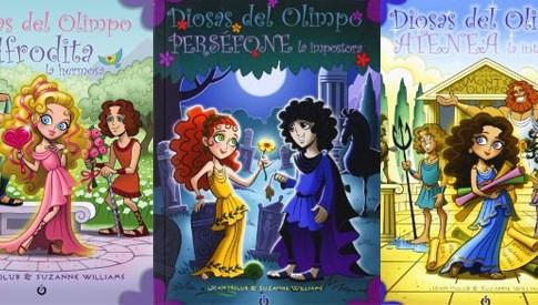 coleccion diosas del olimpo de ediciones di que si