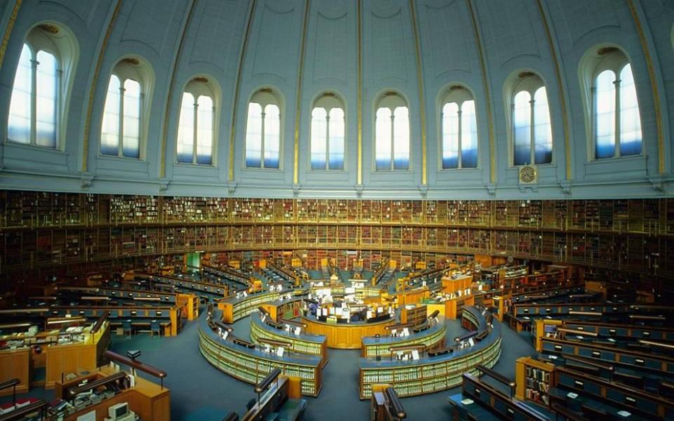 Sala de lectura del British Museum de Londres